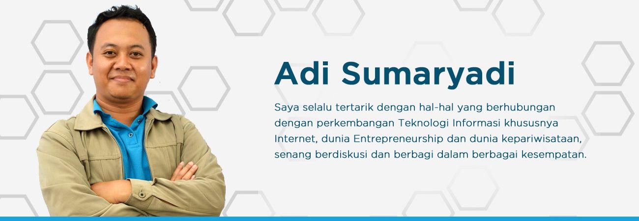 About Adi Sumaryadi