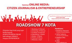 Oleh-oleh Seminar Citizen Journalism & Entrepreneurship Detik.com