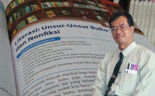 Asep Ganda Sadikin, Penulis Buku Bahasa Indonesia, Inspirasiku Saat SMA