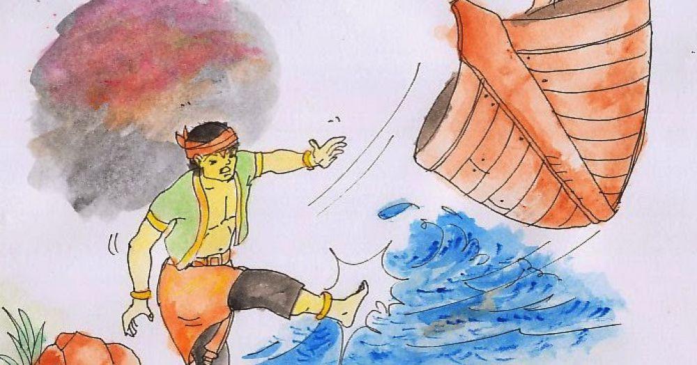 Kemana Sangkuriang Setelah Menendang Perahu?