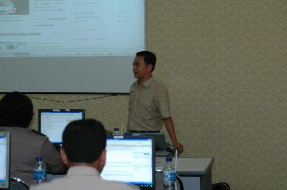 Pelatihan IT Polda Kalimantan Timur di Balikpapan