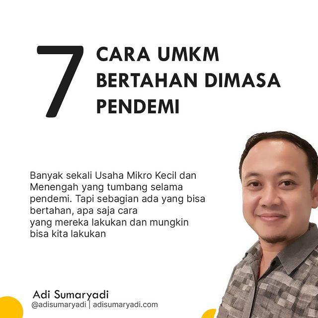 Pendemi memang berat, tidak sedikit yang tumbang, namun ada juga yang bertahan. Bagaimana ya cara mereka bertahan? . #umkm #umkmindonesia #pendemi #umkmnaikkelas #bisnisumkm #startup #marketing #tipsbisnis