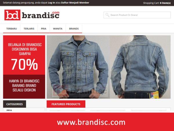 Brandisc Tempatnya Barang Brand Discon
