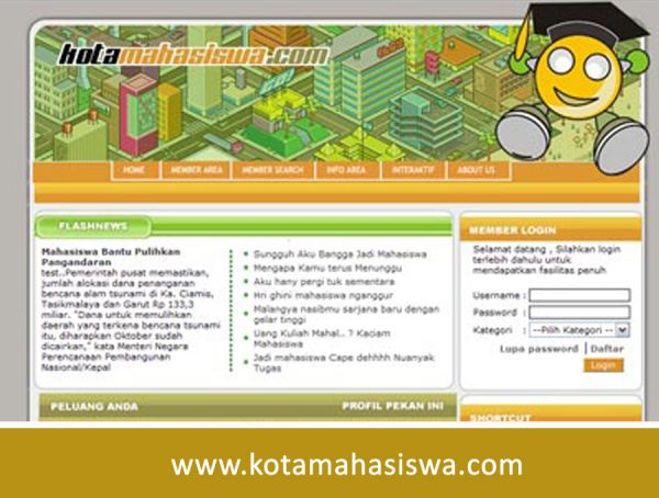 KotaMahasiswa.com Tempat Kumpul Mahasiswa
