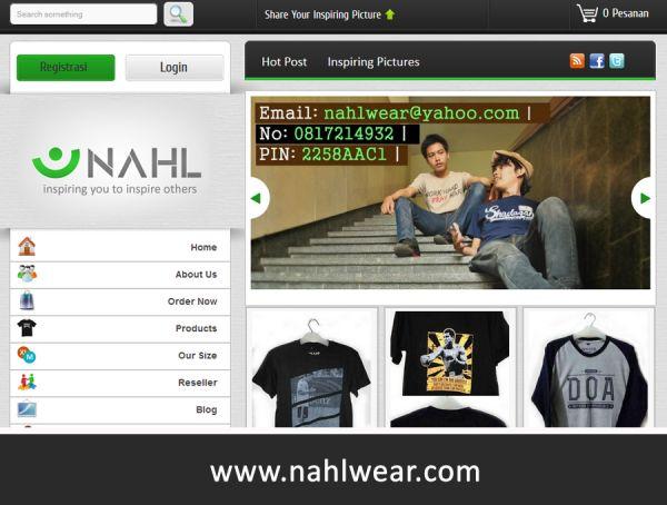 NahlWear Jual Kaos Islami