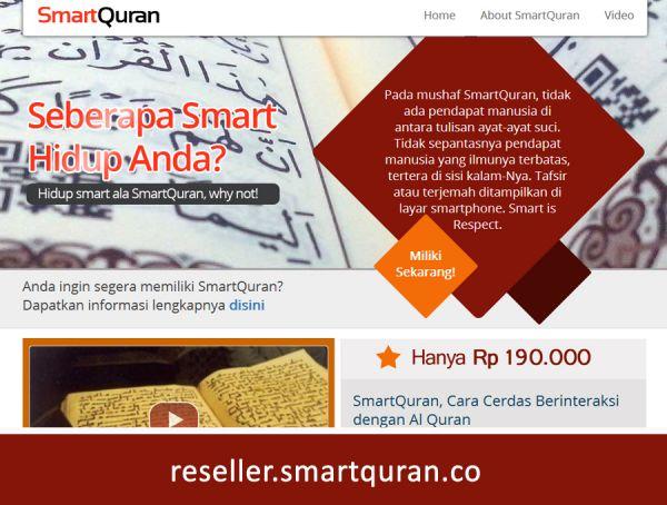 Online Reseller SmartQuran