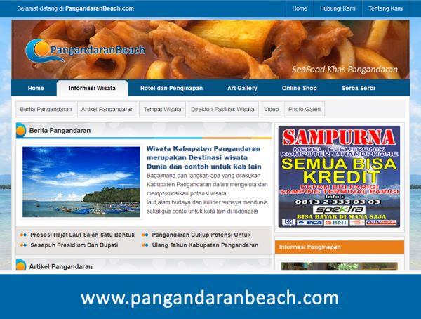 Situs Pariwisata Online PangandaranBeach