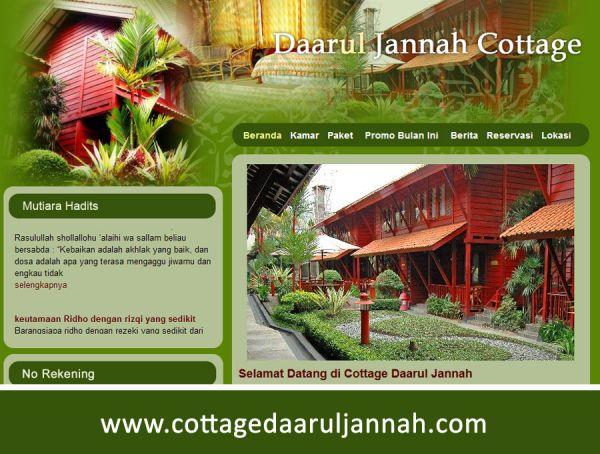 Website Daaruljannah Cottage DT