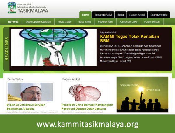 Website KAMMI Tasikmalaya