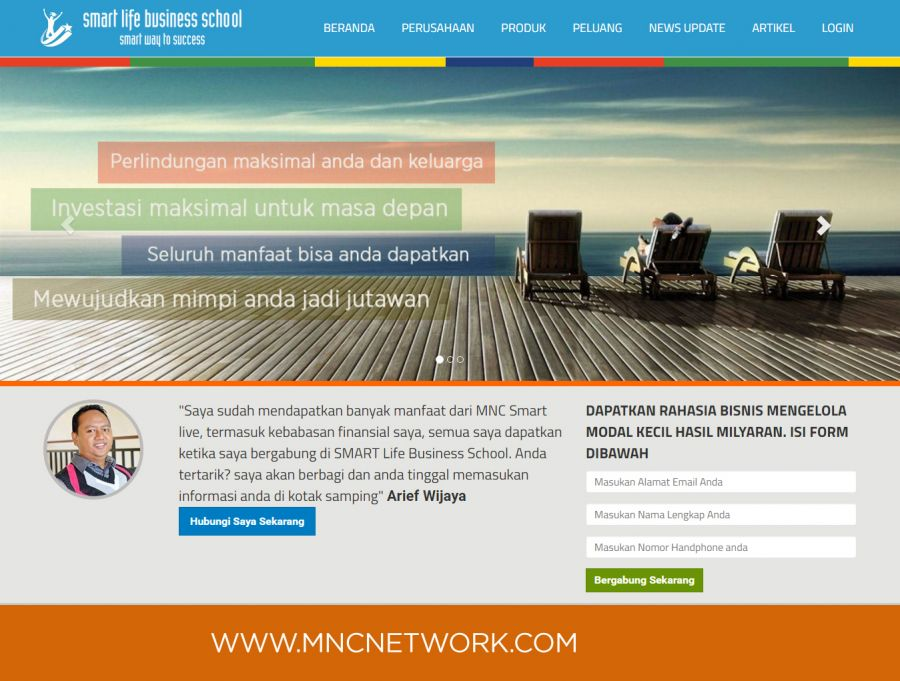Website Komunitas MNC Network