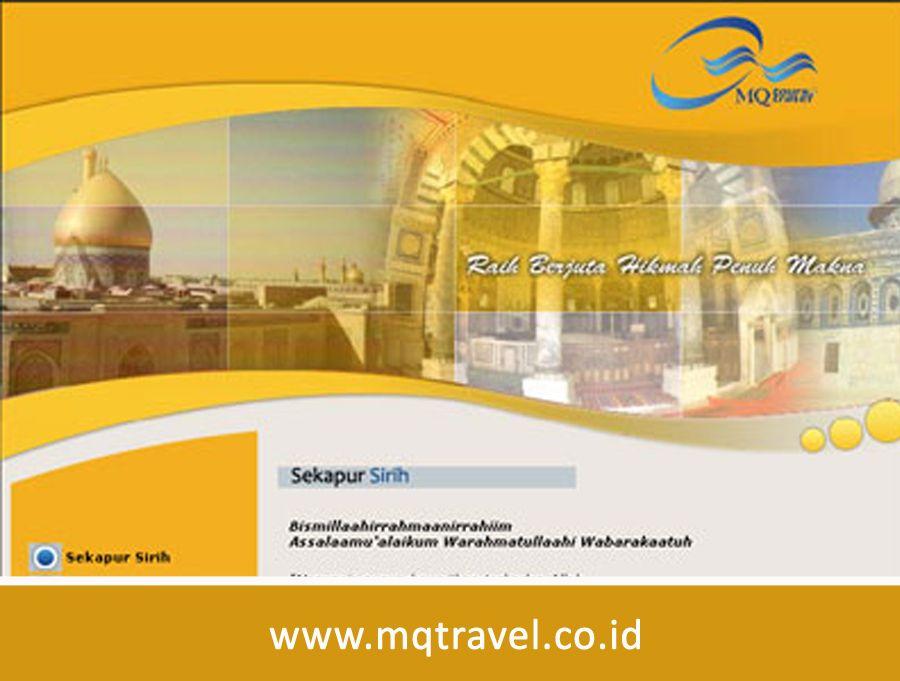 Website MQTravel Baru