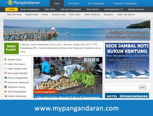 Website Mypangandaran