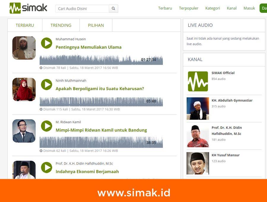 Website SIMAK