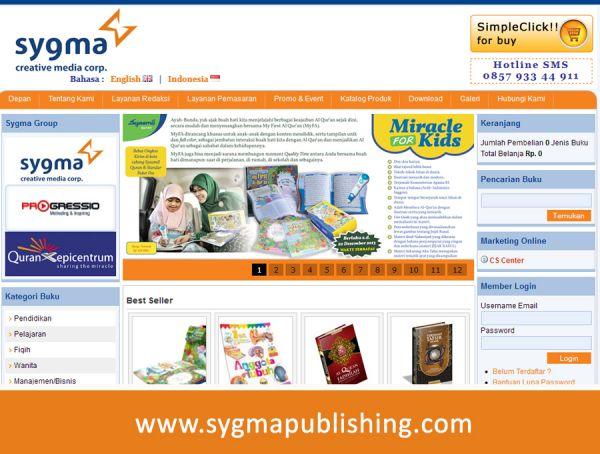 Website Sygma Publishing