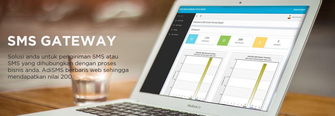 Adi SMS Gateway - Solusi SMS Center untuk Anda