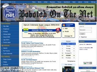 Berkunjung ke Bobotoh Persib On The Net.