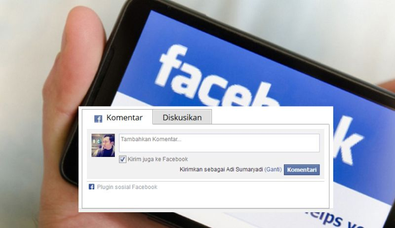 Memasang Facebook Comment Plugin Di Design Responsive