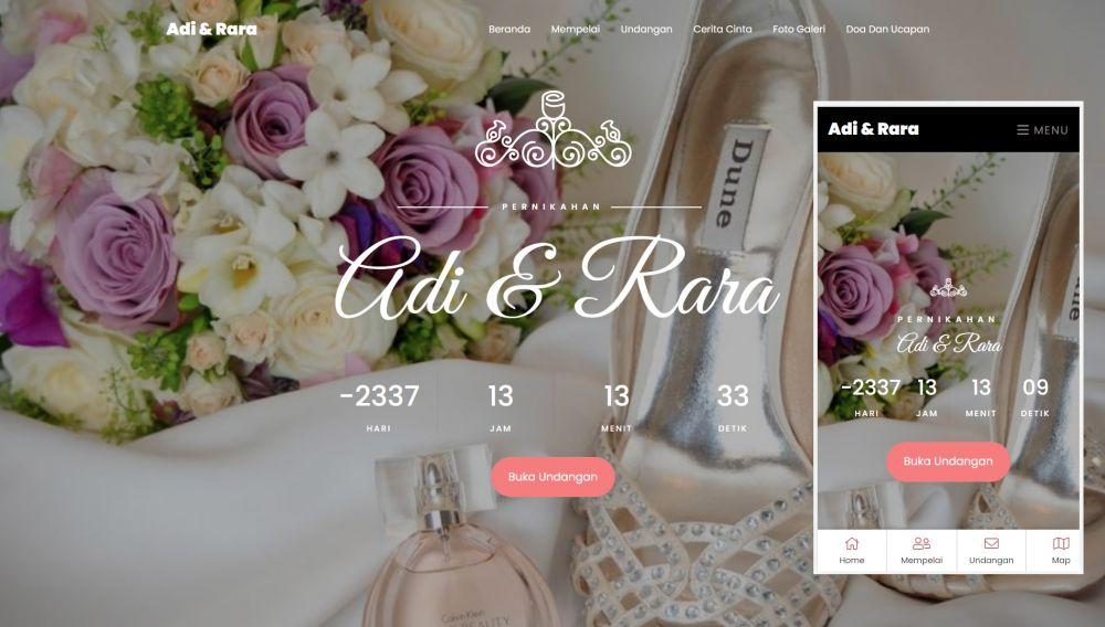 WebNikah, Cara Gampang Buat Website Undangan Pernikahan Gratis